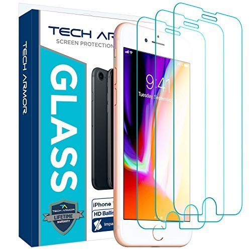 Tech Armor Apple iPhone 7 Plus  HD Clear Ballistic Glass