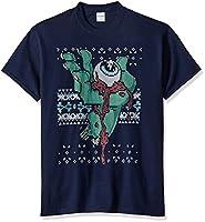 FREEZE Men's Big Tall Ugly Halloween Eyeball T-Shirt, Navy, 4XL