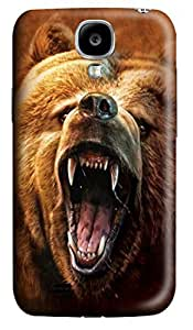 For Case Iphone 4/4S Cover s & CoversGrizzly Growl Bear Custom PC Hard For Case Iphone 4/4S Cover