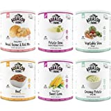 Augason Farms Emergency Food Dinner Mix Variety Pack, Set of 6