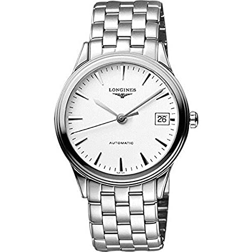 Longines L49214126 Presence Automatic Mens Watch - White Dial