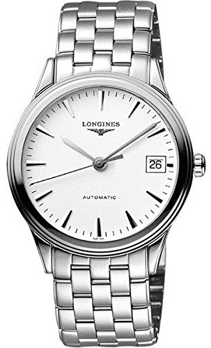 Longines Swiss Watches - Longines L49214126 Presence Automatic Mens Watch - White Dial