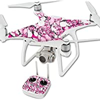 Skin For DJI Phantom 4 Quadcopter Drone – Butterflies | MightySkins Protective, Durable, and Unique Vinyl Decal wrap cover | Easy To Apply, Remove, and Change Styles | Made in the USA