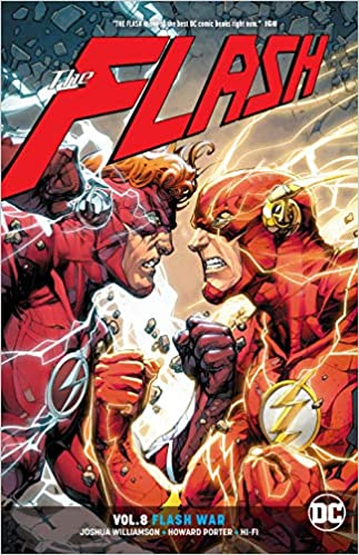 73a3c890512 Amazon.com: The Flash Vol. 8: Flash War (9781401283506): Joshua Williamson,  Howard Porter, Scott Kolins: Books
