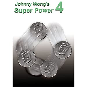 MMS Johnny Wong's Super Power 4 (with DVD) - by Johnny Wong- Trick