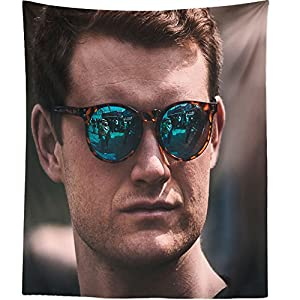 Westlake Art - Wall Hanging Tapestry - Sunglasses Man - Photography Home Decor Living Room - 68x80in (q8z ad6 50a)