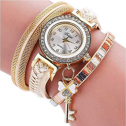 TOPOB - Reloj de Pulsera para Mujer, diseño de trébol de ...