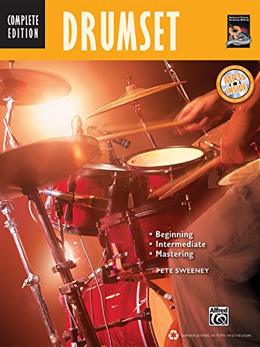 Drumset: Beginning, Intermediate, Mastering (Book & CD) (Complete Method)