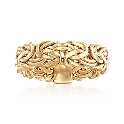 Ross-Simons 14kt Yellow Gold Byzantine Ring