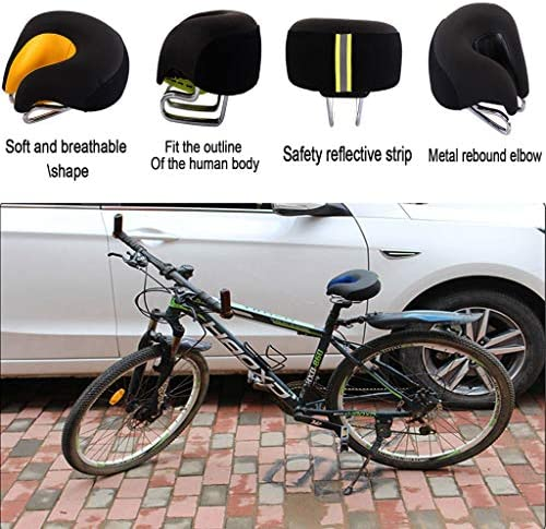 Details about  /Bicycle Seats Mountain Bike Seats Comfortable Bicycle Seats Cushion No Nose M3F0