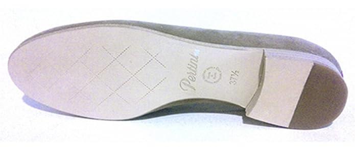 Pertini - Mocasines de Piel para Mujer Beige Sahara 37: Amazon.es: Zapatos y complementos