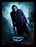 "DC Comics The Dark Knight 30 X 40 cm ""Joker Gun"" Framed Print"