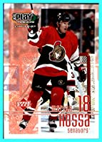 2001-02 Upper Deck UD Playmakers #69 Marian Hossa OTTAWA SENATORS