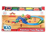 Kids Connection preschool train play set