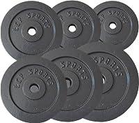 Premium Gusseisen Hantelscheiben Gewichte Sets 2,5 kg 5 kg 7,5 kg 10 kg 15 kg...