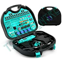 Tools Centre TC66712-Combo 252Pieces Multifunctional Mini Rotary Tool Die Grinder Tool Kits with Flexible Shaft