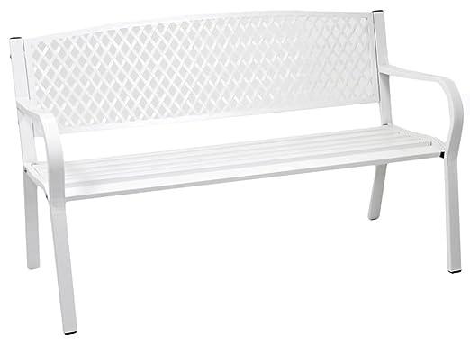 Altezza Panchina Da Terra : Panchina panca panchetta divanetto ivrea in ferro e acciaio bianca