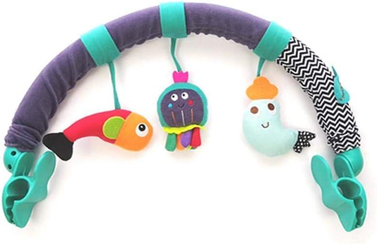 ranninao Muñeca Cochecito De Juguete, Colgar Cuna Bebé Arco De Juguete Colgante Forma Animal Juguetes Cochecito Accesorios Cuna Bebé elegant
