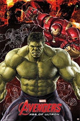 (AVENGERS POSTER Age of Ultron - Hulk RARE HOT NEW 22x34)