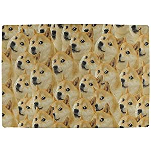Doge Meme Funny All Over interior Mat