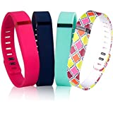 Fitbit Flex Bands,DDup Replacement Bands for Fitbit Flex, Fitbit Accessories, Backup Bands for Fitbit Flex Fitness Tracker