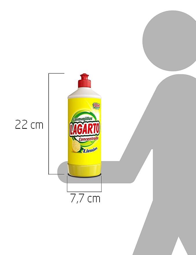 Lagarto Lavavajillas Mano Concentrado - Limon - 750 ml: Amazon.es ...
