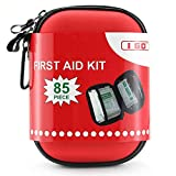 I GO 85 Pieces Hard Shell Mini Compact First Aid