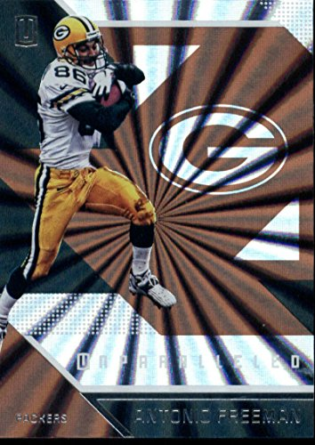 (2016 Unparalleled Football #109 Antonio Freeman Green Bay Packers Official NFL Trading Card Produced By Panini)