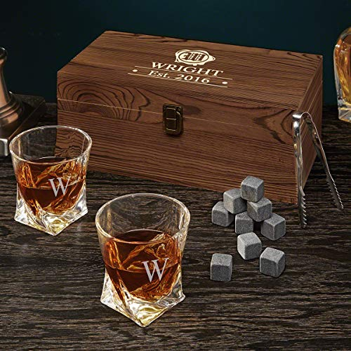 Wax Seal Personalized Whiskey Set (Custom Product)