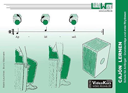 Cajón lernen: Schule für Anfänger - Grundschläge und erste Rhythmen (Hefte für Percussionsinstrumente)