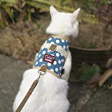 Cat / Dog Walking Jackets Padded Vest Cat Harness and Leash Medium, Cat/Dog Harness and Leash for Walking Escape Proof