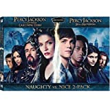 PERCY JACKSON Naughty VS. Nice 2-pack DVD Set (Both DVD Movies Togther - Lightning Thief and Sea of Monster) Logan Lerman