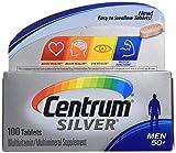 Centrum Silver Men 50 + Multivitamin/multimineral 100 Tablets (2 Pack) For Sale