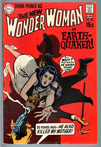 1970's Wonder Woman Costume (WONDER WOMAN #187 1970-no costume-DC SILVER AGE-vg VG)