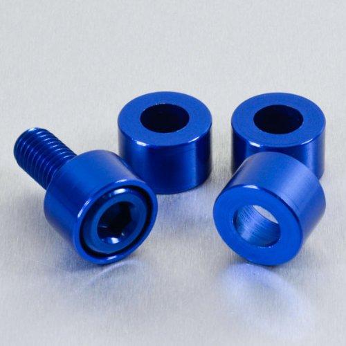 Aluminium Cup Washer M8 Blue