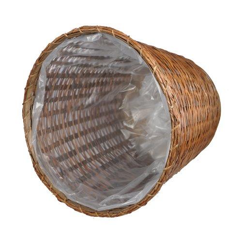 [해외]로프 림이있는 13 개의 대나무 화분 바구니/13  Bamboo Planter Basket with Rope Rim