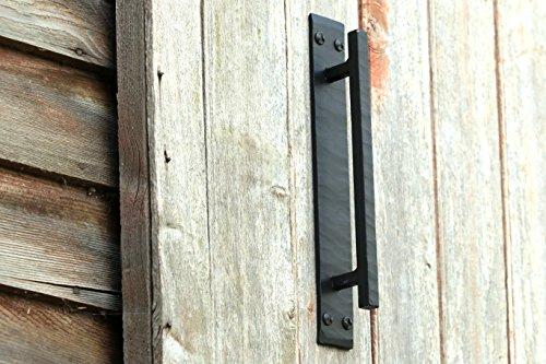 Everything Rustique Barn Door Handles for Barn Door Hardware Black Door Pull Handle Rustic Door Pull Handle SLB