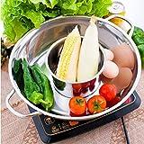 Thick stainless steel pot ears pot home fondue pots clear mother fondue pot soup pot pots dedicated cooker pot