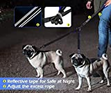 YOUTHINK Double Dog Leash, No Tangle Dog Walking