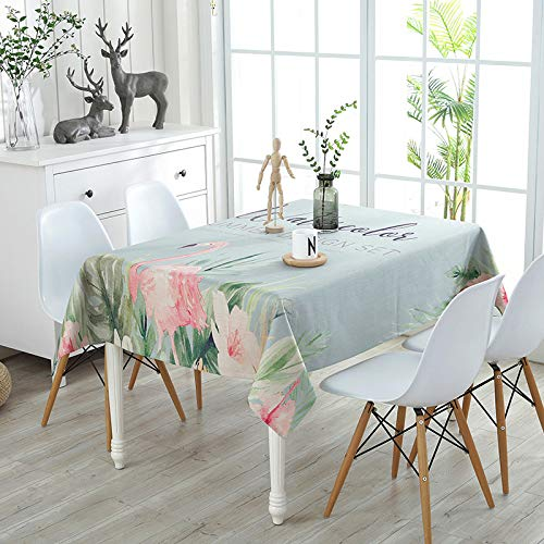Picnic Home Decoration High-Grade Printed Thick Cotton and Linen Tablecloth 140140Cm,Great for Buffet Table, Parties, Holiday Dinner ()