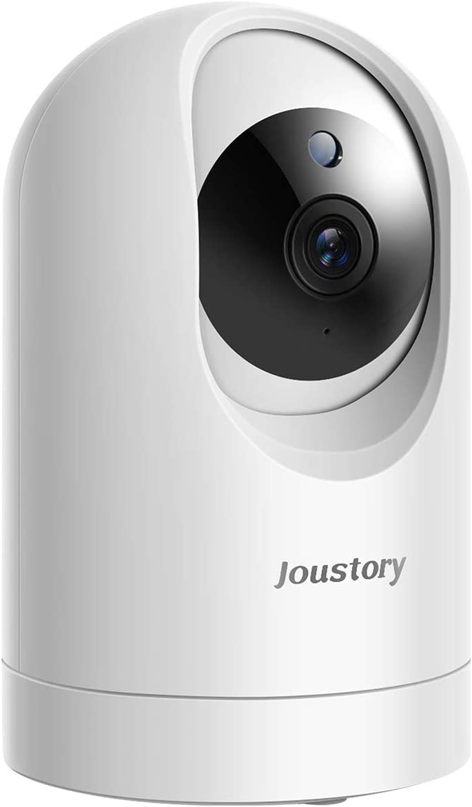 WiFi Camera Indoor ,Joustory Smart Home Security Camera Wireless 1080P Pet Camera Baby Monitor with Pan/Tilt/Zoom, 2 Way Audio, Motion Detection, Night Vision Compatible with Alexa