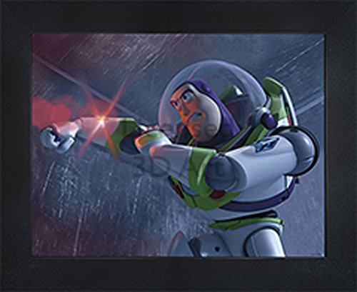 3D Art - Officially Disney Licensed Picture - Buzz Lightyear to the Rescue