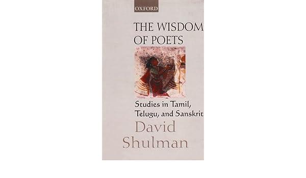 Amazon com: The Wisdom of Poets: Studies in Tamil, Telugu