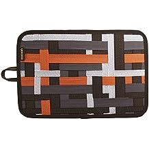 "Cocoon CPG15OR Grid-It 12"" Accessory Organizer with Storage Pocket (Orange)"