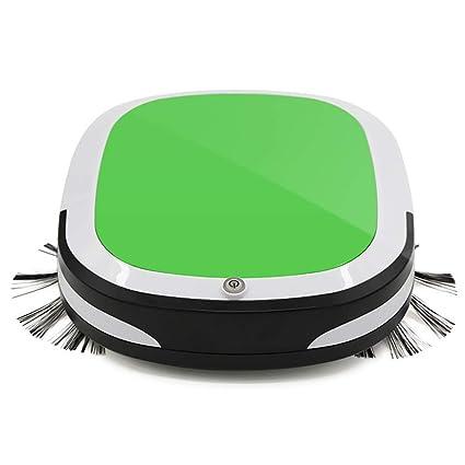 Fesjoy Aspirador Robot Inteligente Recargable Ultra Fino Herramienta de Limpieza Automática Barredora de Piso Móvil Máquina