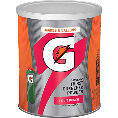 (Gatorade Thirst Quencher Drink, Fruit Punch, 51 Ounce Powder, Pack of 1)