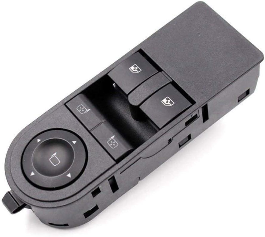 TOOGOO Vauxhall Astra H /& Zafira-B Schalter auf der Linken Seite der Fahrerseite f/ür den Elektrischen Schalter Fenster Knopf 13228879