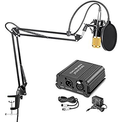 neewer-condenser-microphone-gold