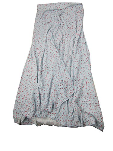 Lauren Long Skirt Skirt - RALPH LAUREN Denim & Supply Floral-Print Wrap Long Skirt (Kimber Floral, Medium)