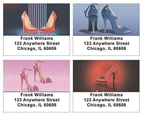 High Heels Address Labels